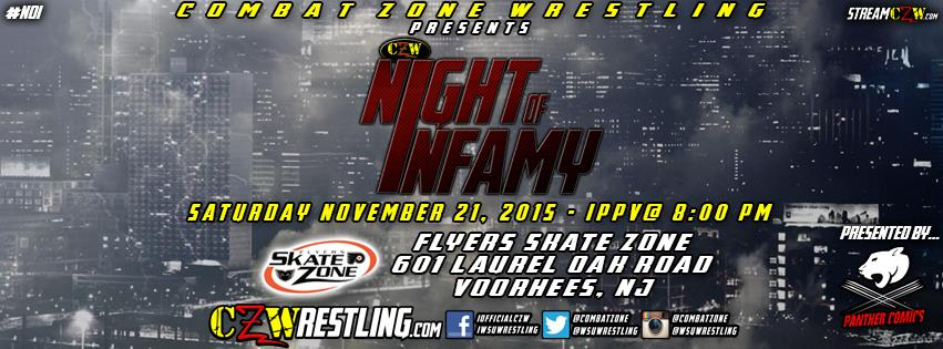 CZW Night of Infamy 2015