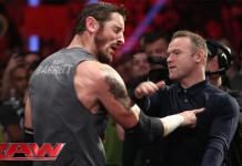 Wayne Rooney slaps King Barrett: Raw, November 9, 2015 - YouTube