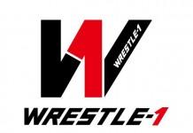WRESTLE-1 logo W