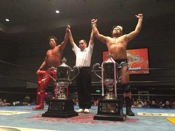 AJPW Suwama Miyahara RWTL 2015 Winner