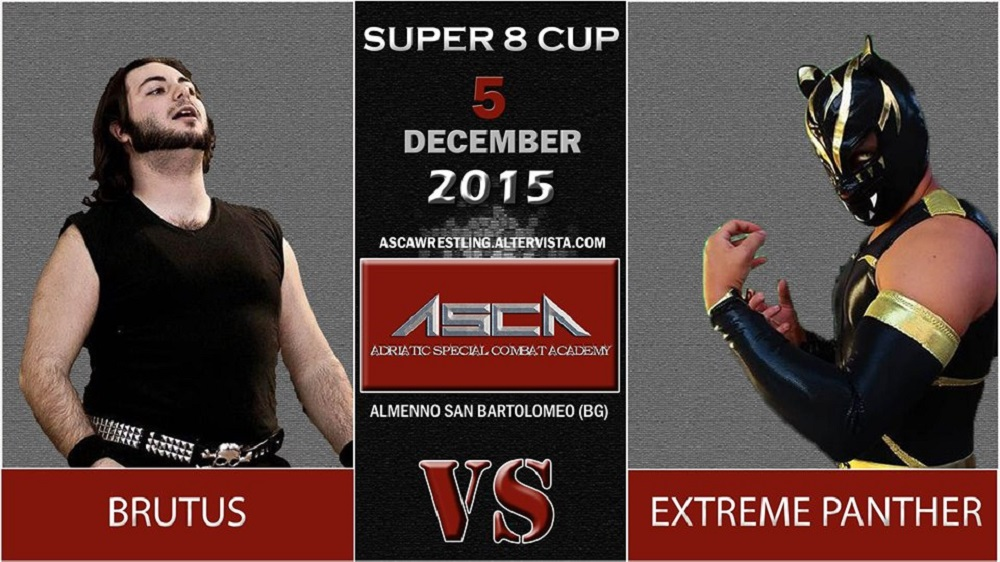 ASCA Super8III Brutus Vs Panther