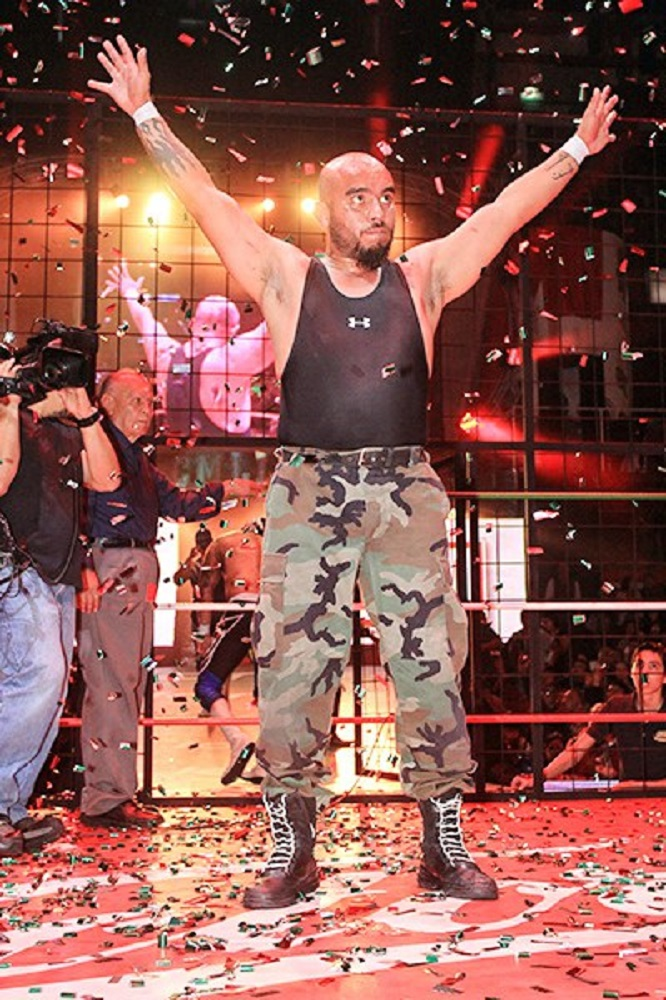 CMLL Super Comando smascherato (2)