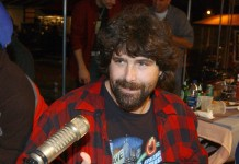 WWE superstar Mick Foley ejected from wing-eating contest after ...