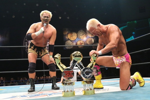 NJPW GBH World Tag League 2015 winner