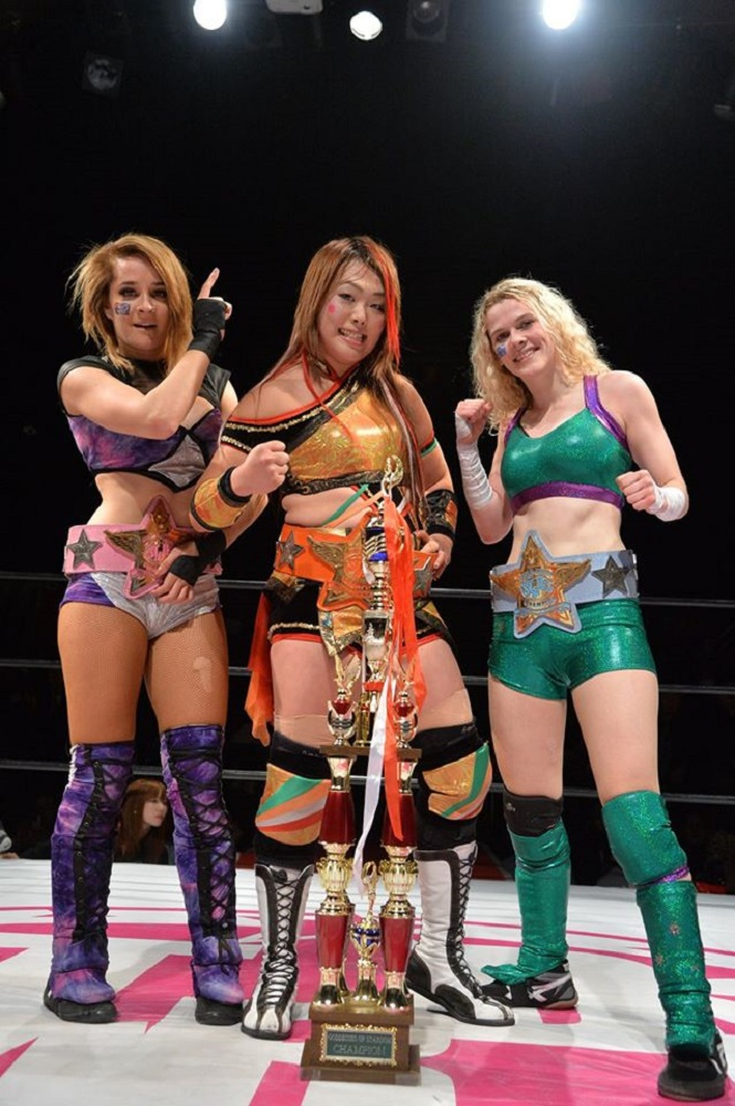 STARDOM New Artists Champion