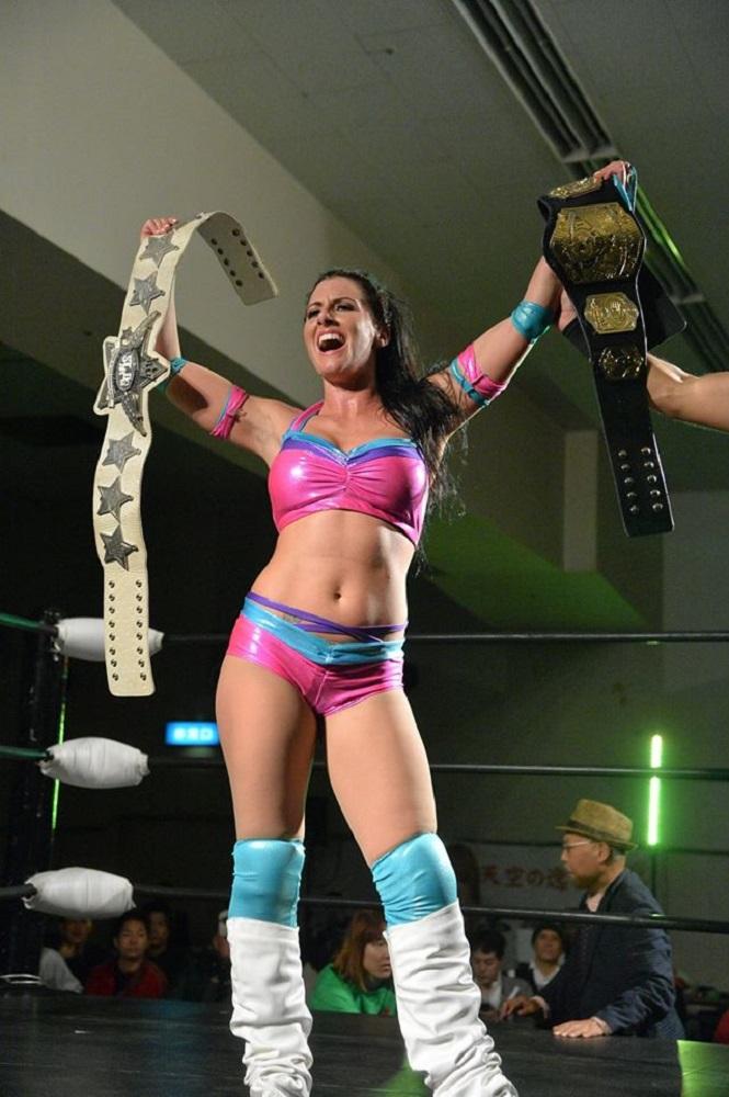 STARDOM Santana Garrett Champion