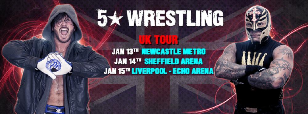 5Star Wrestling UK Tour