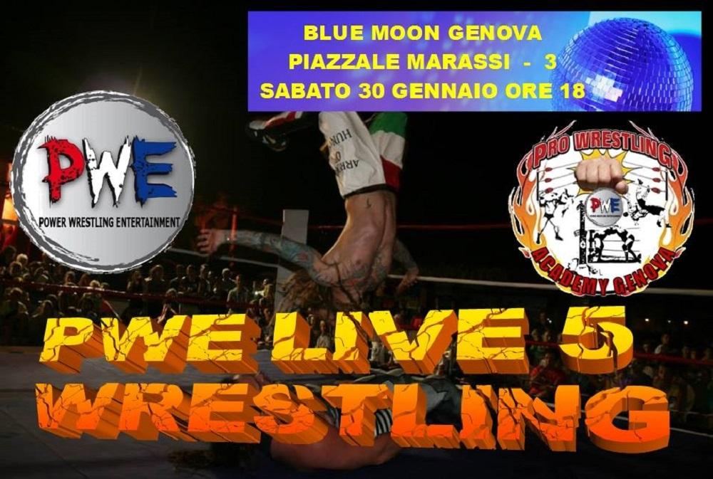 PWE Live 5 logo