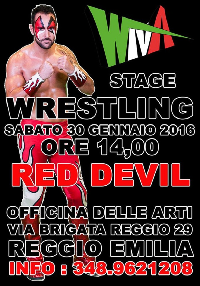 WIVA Stage Red Devil