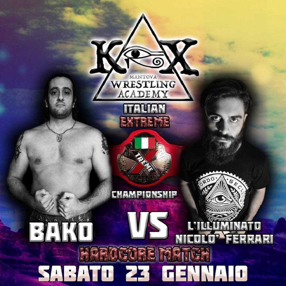 Wrestling KOX Bako Vs Ferrari