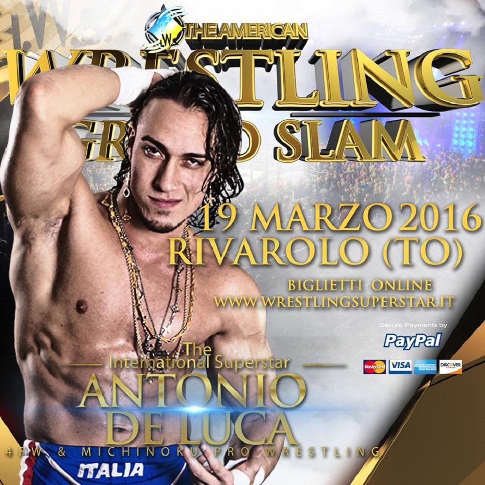 IWS Grand Slam Antonio di Luca