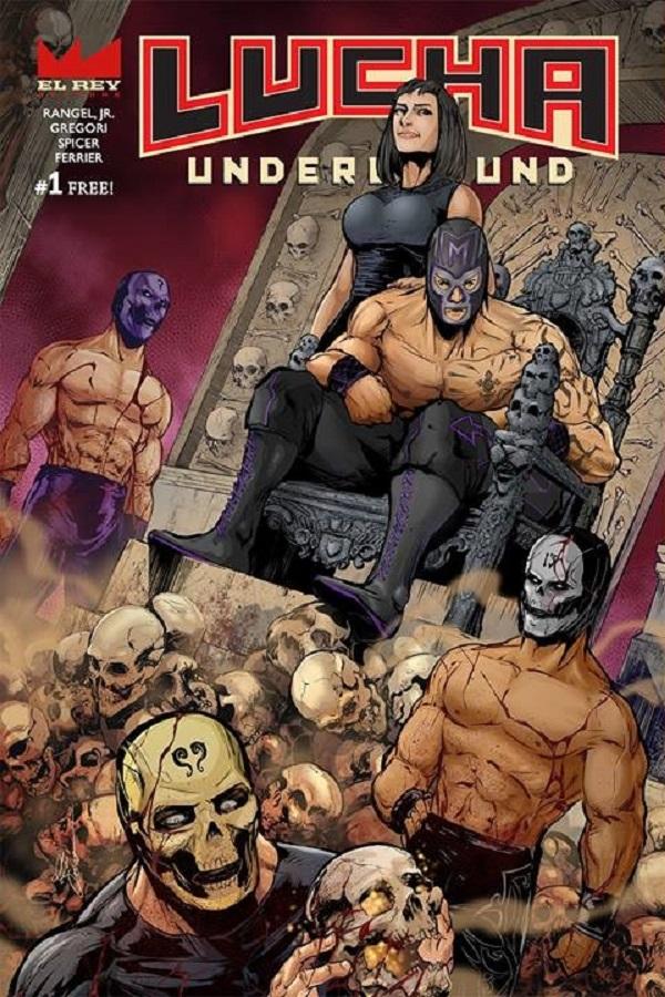 Lucha Underground Comics Mil Muertes 01