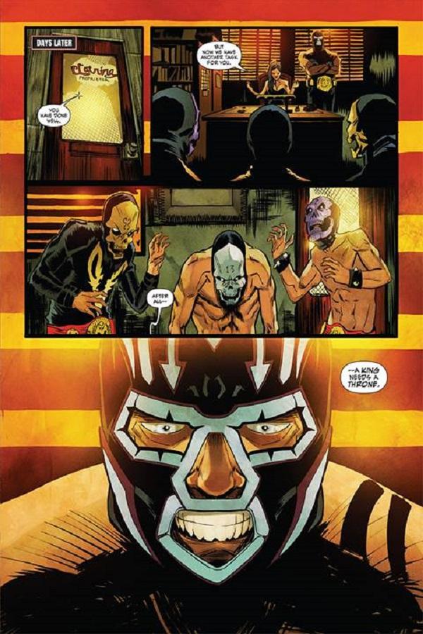 Lucha Underground Comics Mil Muertes 02