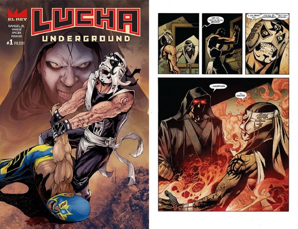 Lucha Underground Comics Pentagon Jr