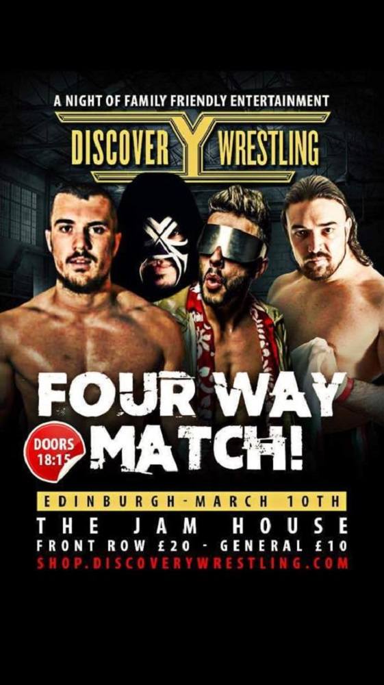 Masssimo Italiano Discovery Wrestling debut