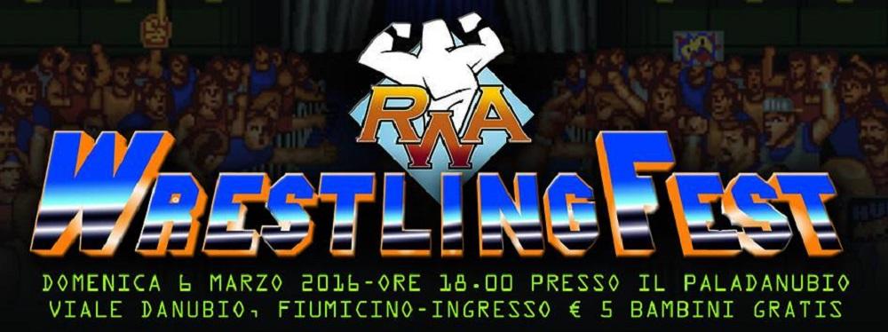 RWA WrestlingFest logo