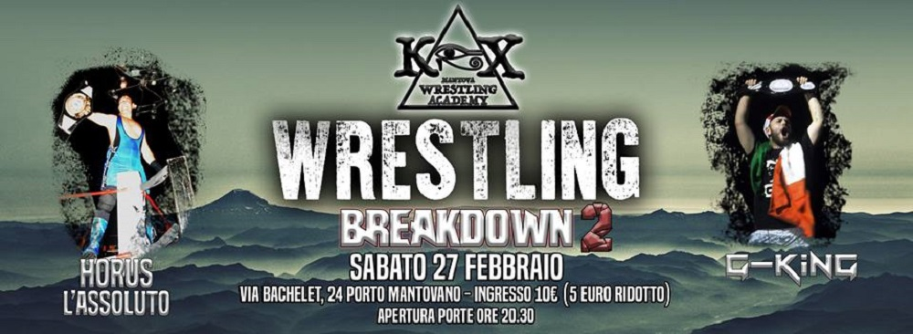 Wrestling KOX Breakdown2 Rematch