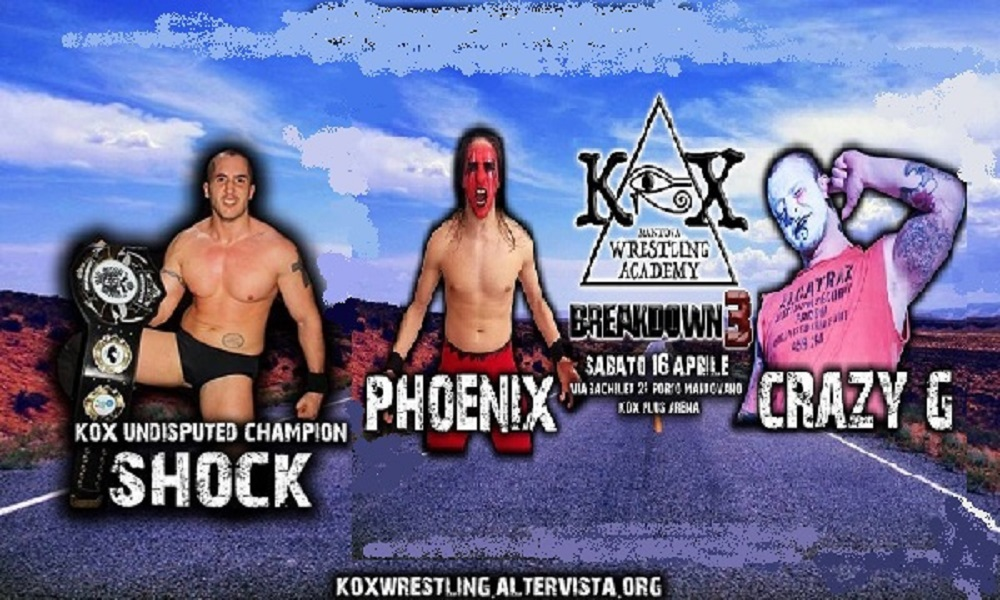 KOX Breakdown3 Triple Treath