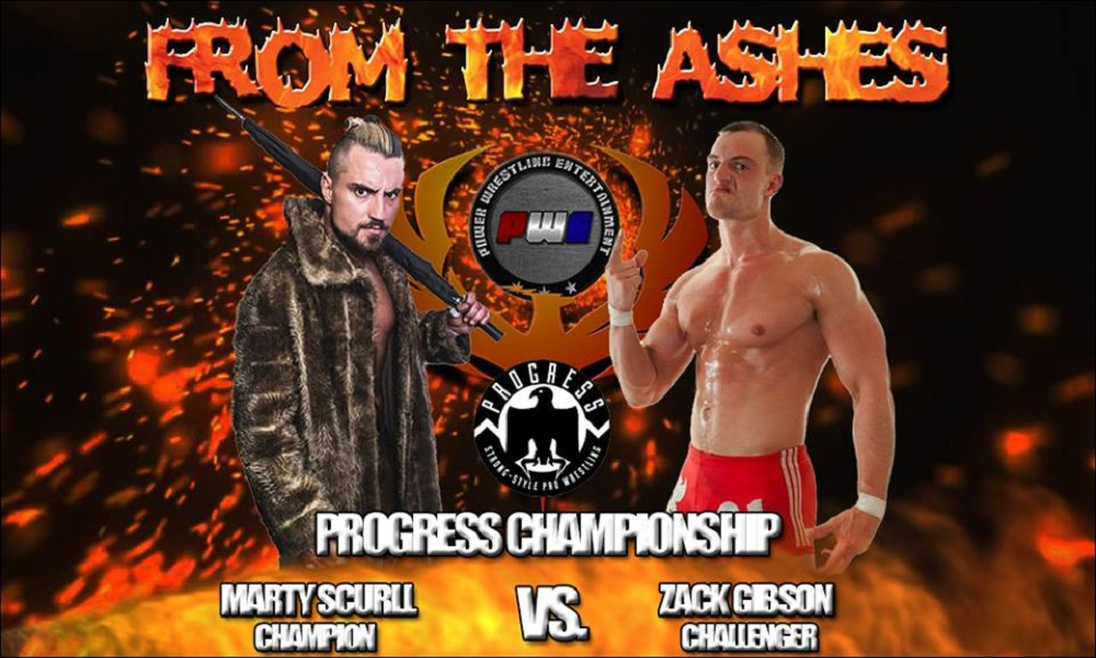 PWE From The Ashes PROGRESS Title