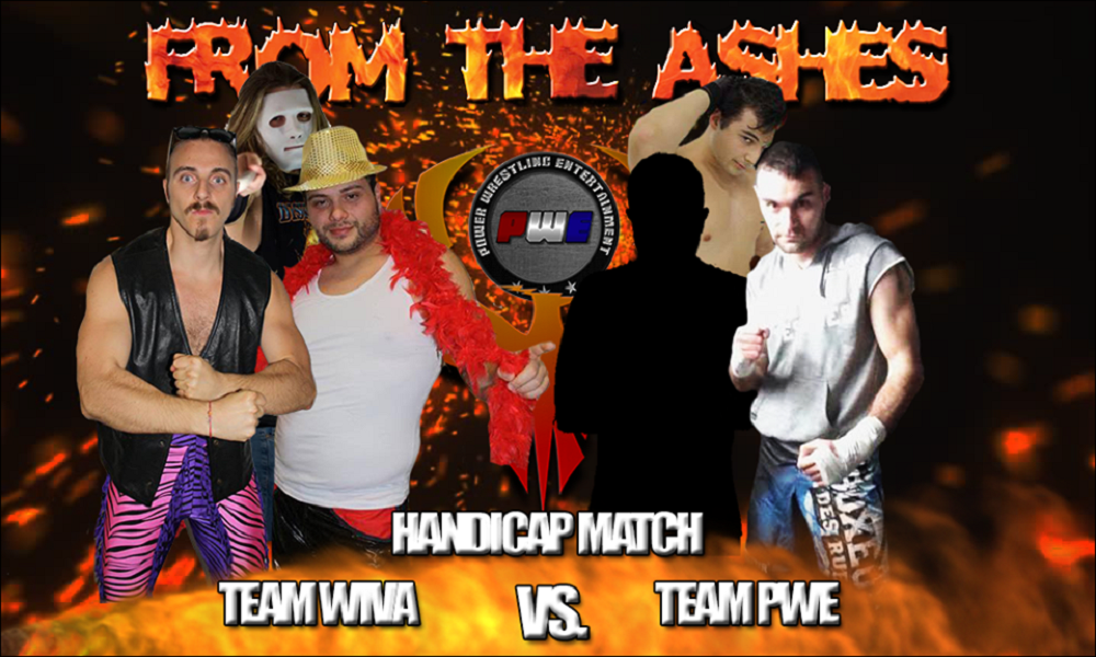 PWE From The Ashes Wiva Vs PWE