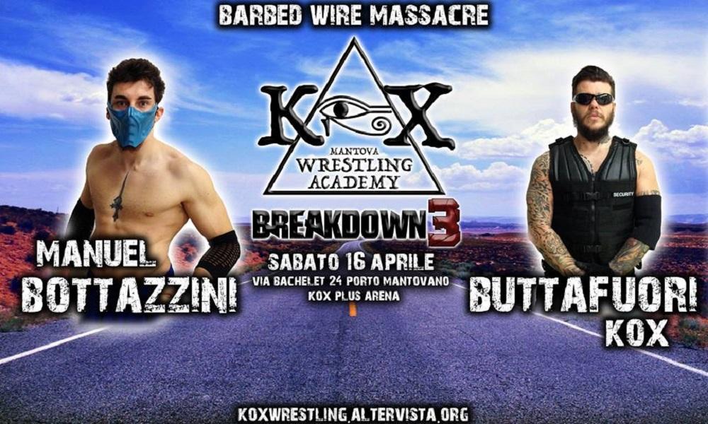 KOX Breakdown3 Barbed Wire