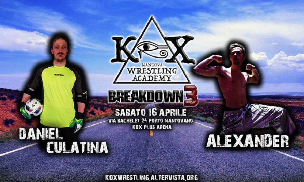 KOX Breakdown3 Culatina Vs Alexander