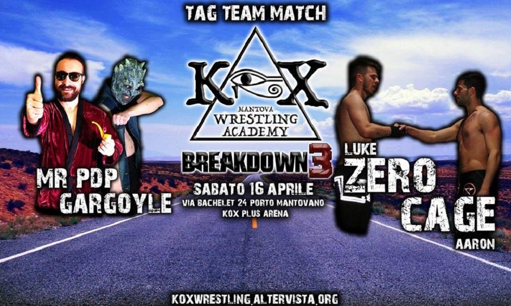 KOX Breakdown3 Tag Team Match