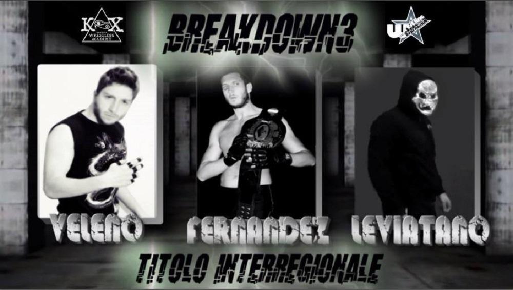 KOX Breakdown3 Titolo Inter-regionale