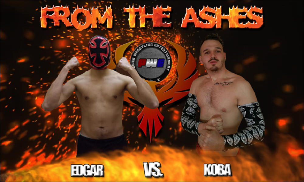 PWE From The Ashes Edgar Koba