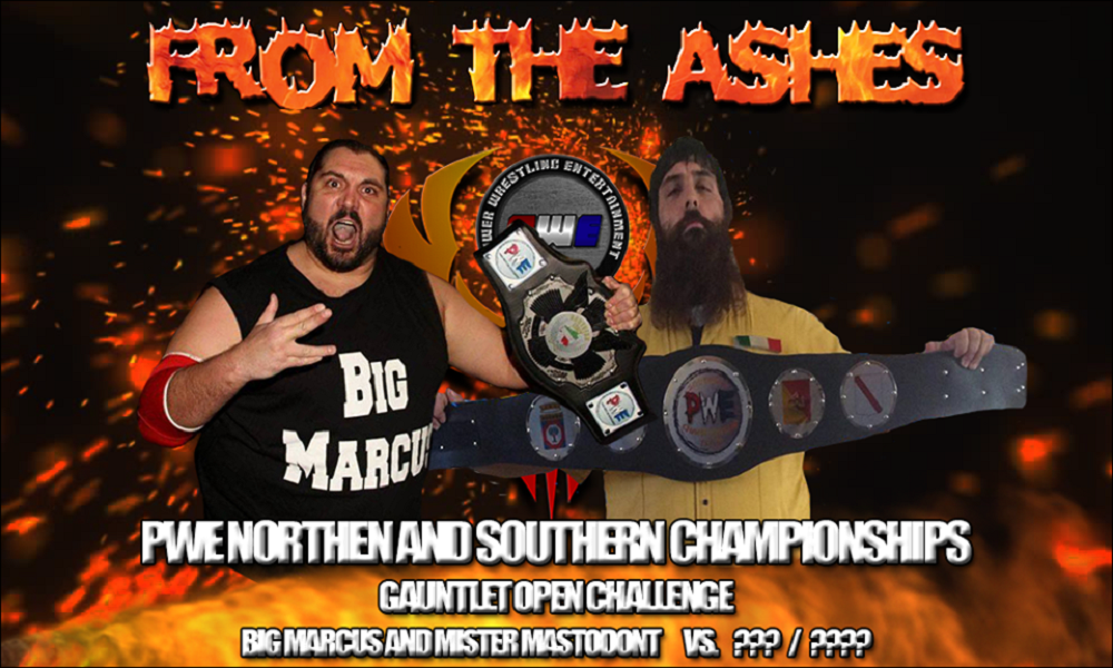PWE From The Ashes Gauntlet Match