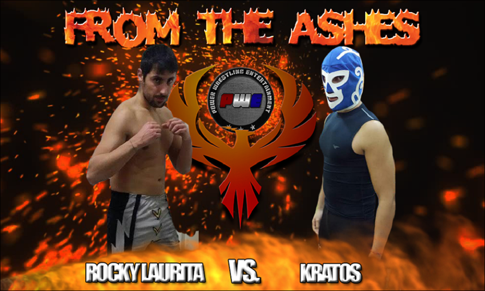 PWE From The Ashes Laurita Kratos