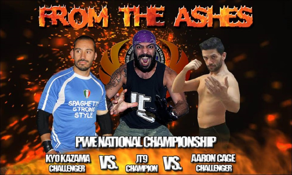 PWE From The Ashes PWE National Title