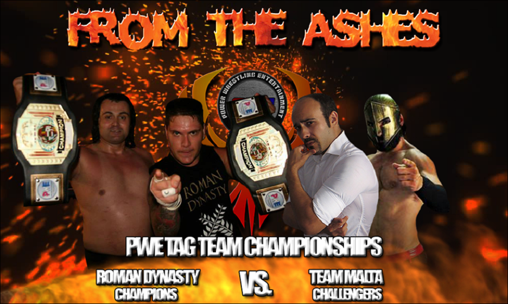 PWE From The Ashes PWE Tag Title