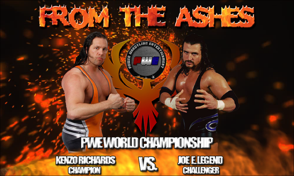 PWE From The Ashes PWE World Title