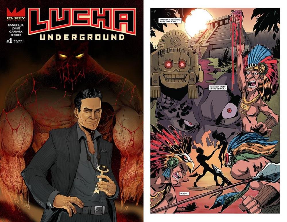 Lucha Underground Comics Cueto Matanza