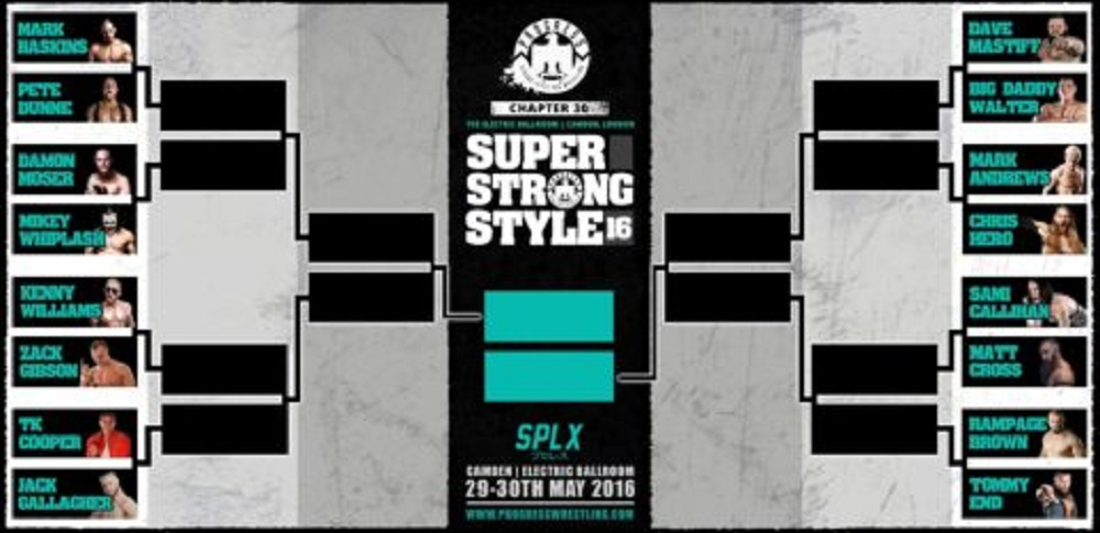 Super Strong Style 16 Tournament 2016