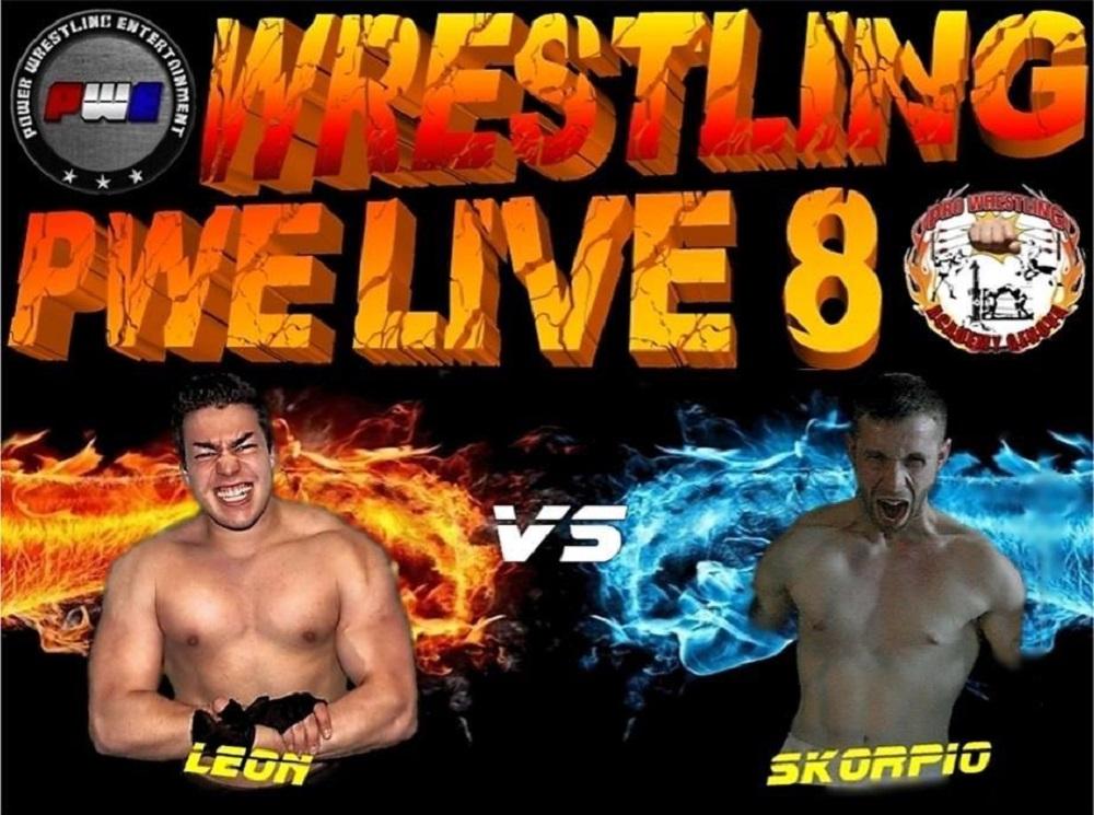 PWE Live 8 Leon Vs Skorpio