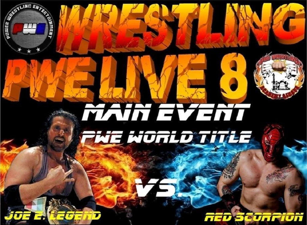 PWE Live 8 PWE World Title