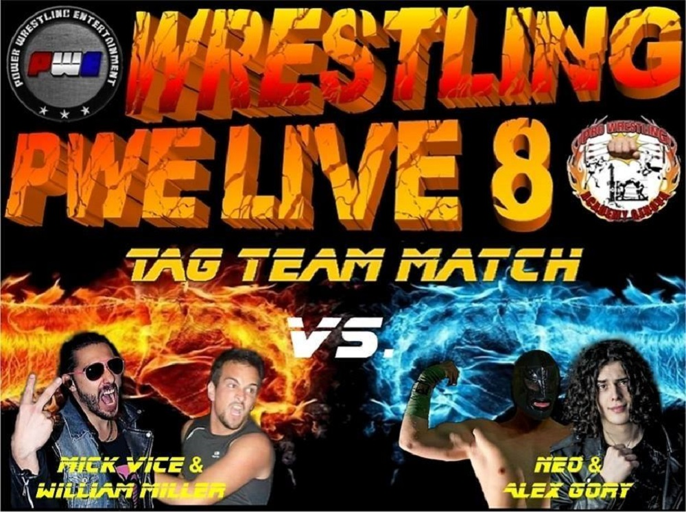 PWE Live 8 Tag Team Match