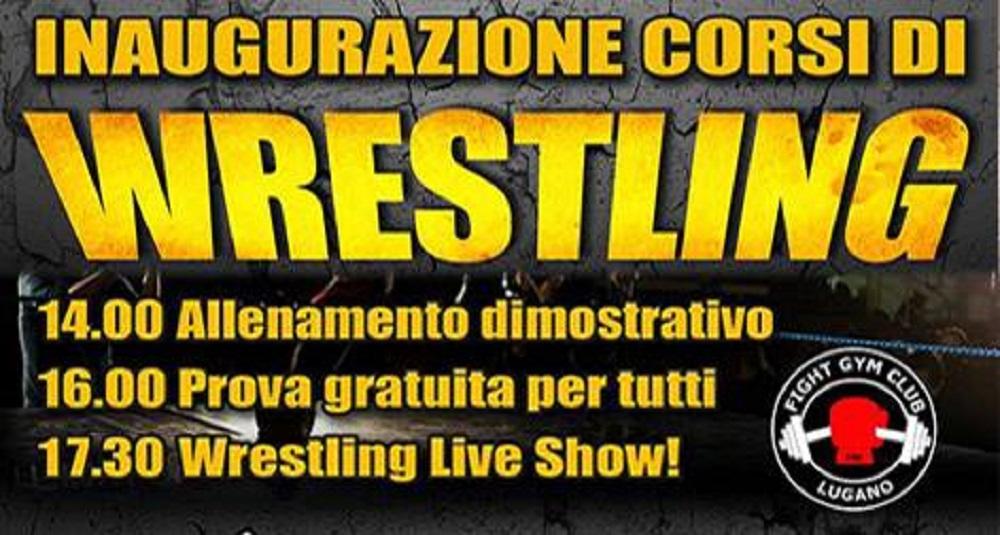 Inaugurazione Pro Wrestling Training Ticino