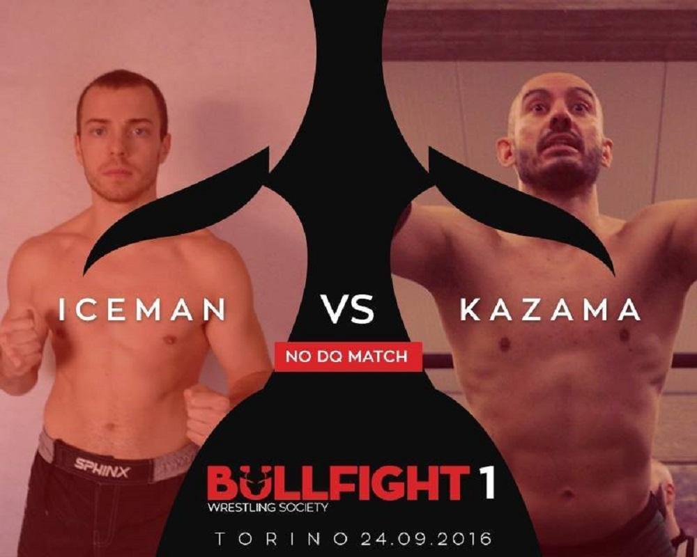 BULLFIGHT Iceman Kazama