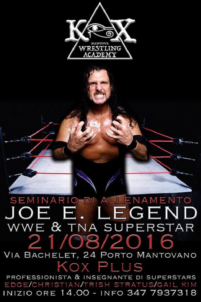 Wrestling KOX Seminario Joe E Legend