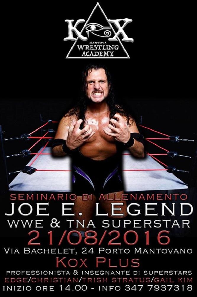 Wrestling KOX Seminario Joe E Legend