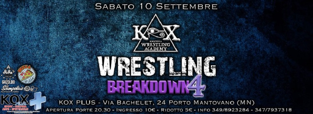 Wrestling KOX Breakdown 4