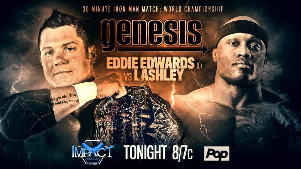 Eddie Edwards vs. Lashley