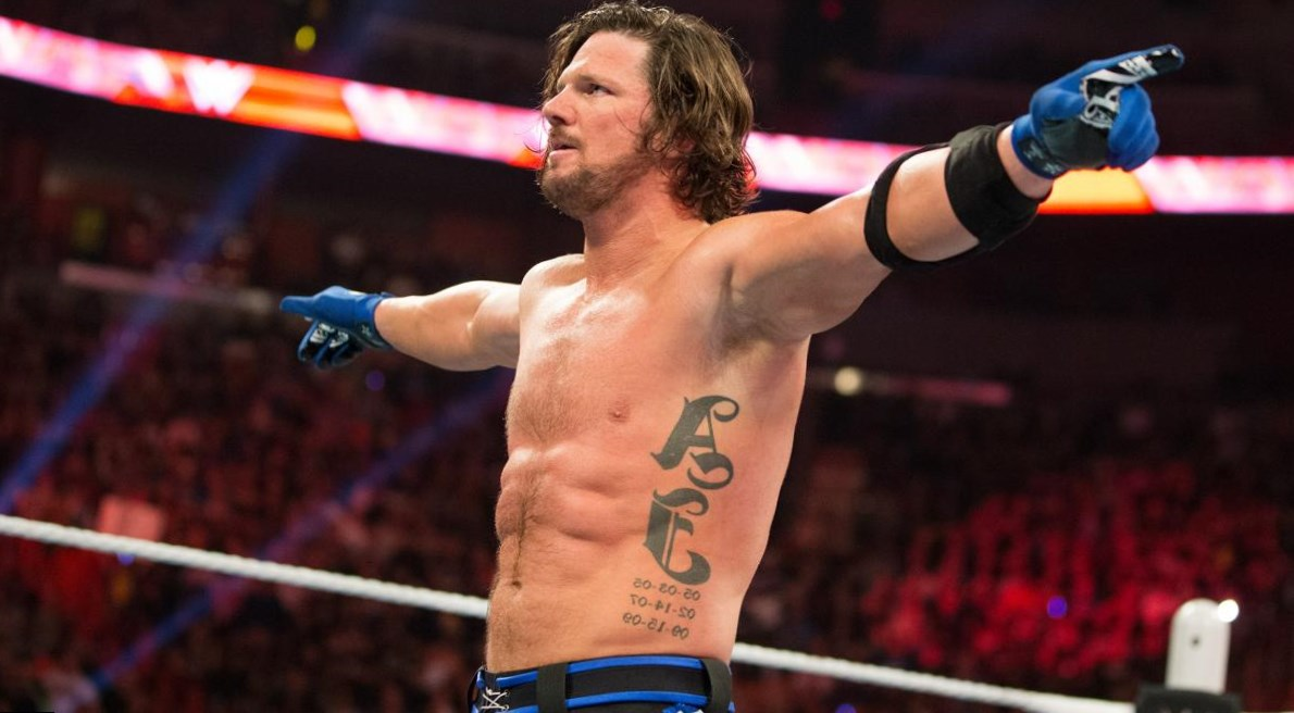 che è AJ incontri WWE GPS dating app iPhone