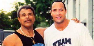 The Rock Rocky Johnson