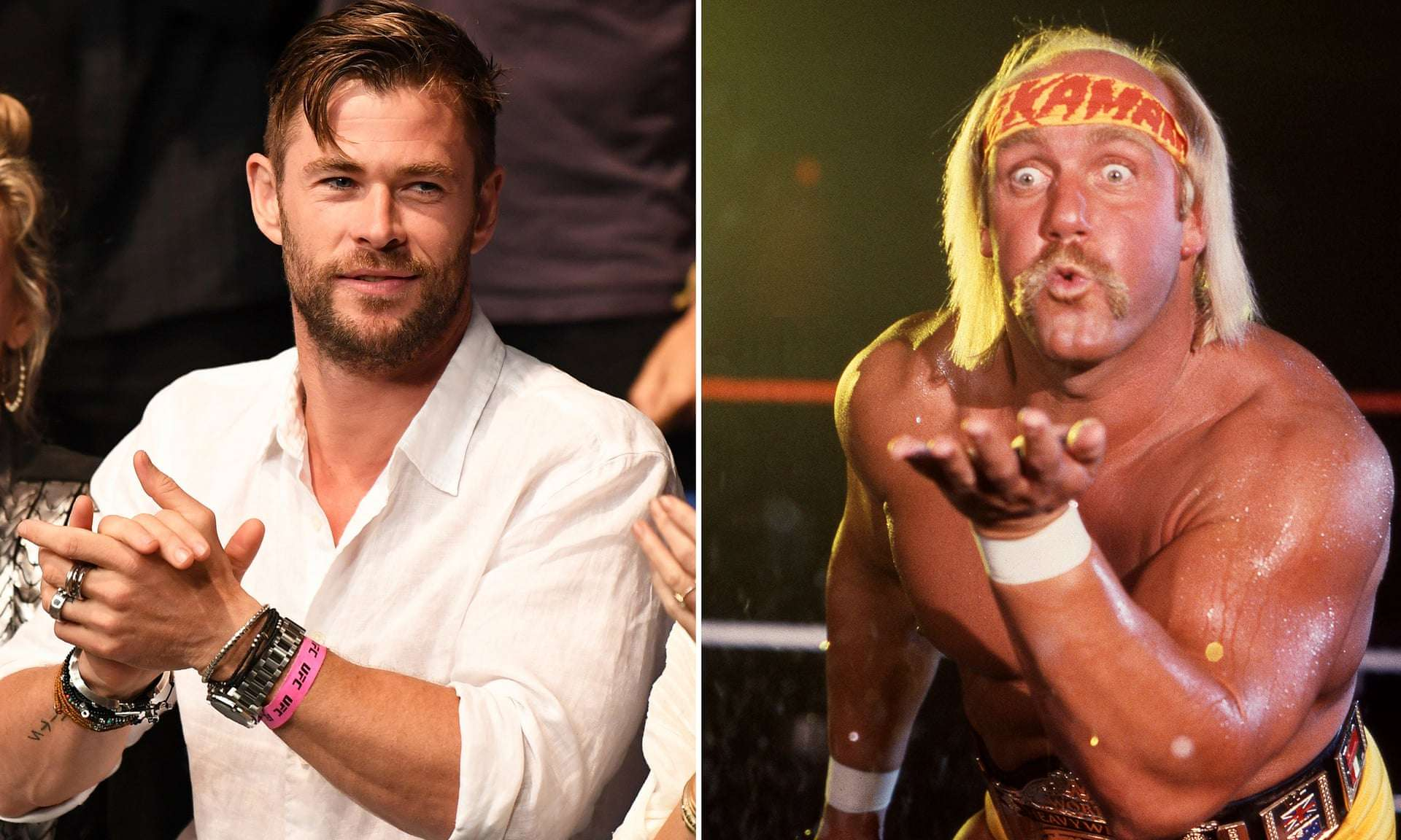 Chris Hemsworth diventa Hulk Hogan: