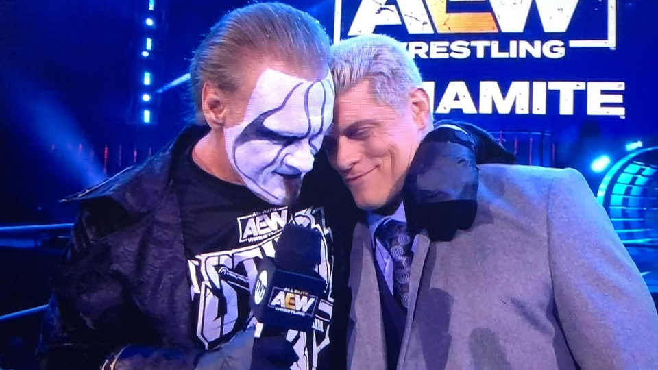 Cody Rhodes on a Potential Match With Sting