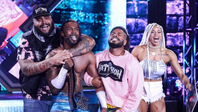 WWE: Grossi cambiamenti per gli Hit Row, cambio di leader in vista